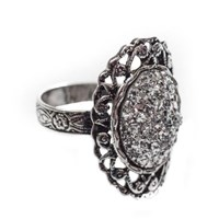 Couture By Lolita Druzy Victorian Filigree Ring