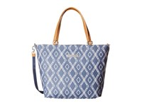 Petunia Pickle Bottom Glazed Altogether Tote Indigo Tote Handbags Blue