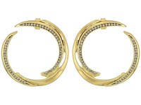 House Of Harlow 1960 Wave Statement Earrings Gold Earring