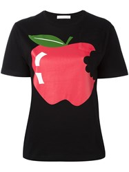 Peter Jensen Apple T Shirt Black