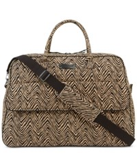 Vera Bradley Grand Traveler Tote In Prints Zebra