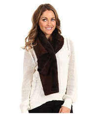 Ugg Classic Panel Scarf Chocolate Scarves Brown