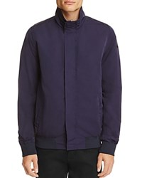 Scotch And Soda Funnel Collar Jacket Navy