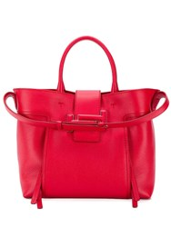 Tod's Medium Tote Bag Red