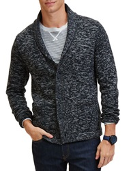 Nautica Shawl Collar Knit Blazer Black