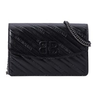 Balenciaga Bb Wallet On Chain Noir
