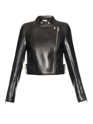 Balenciaga Martingale Leather Biker Jacket