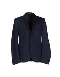 Daniele Alessandrini Suits And Jackets Blazers Men Dark Blue