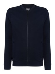 Linea Harris Baseball Zip Sweat Navy