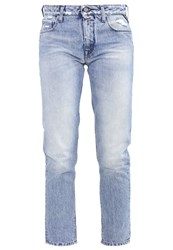 Replay Sophir Straight Leg Jeans Blue Blue Denim
