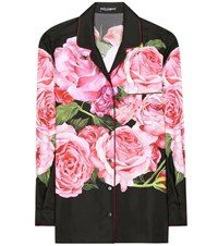 Dolce And Gabbana Floral Printed Shirt Multicoloured