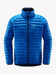 Haglofs Essens Mimic 'S Insulated Quilted Jacket Storm Blue Tarn Blue