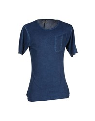 Individual Topwear T Shirts Men Blue