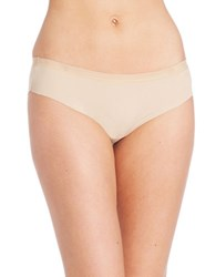 Dkny Solid Microfiber Hipsters Skin