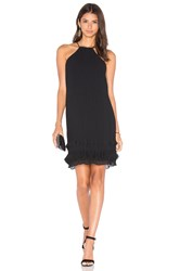 Lumier Step To It Halter Dress Black