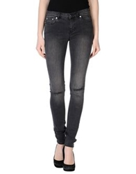 Blk Dnm Denim Pants Steel Grey