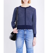 Sandro Andrey Knitted Cardigan Multi