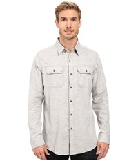 Kuhl Shiftr Long Sleeve Shirt Granite Men's Long Sleeve Button Up Gray