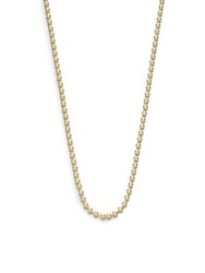 Temple St. Clair 18K Yellow Gold Ball Necklace Chain 18' 20