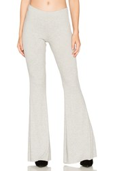 Michael Lauren Van Ribbed Bell Bottom Gray