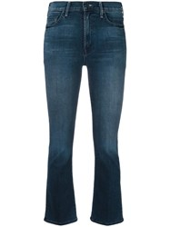 Mother The Insider Crop Jeans Blue