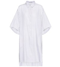 Acne Studios Debrah Cotton Shirt Dress White