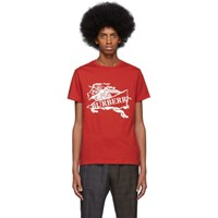 Burberry Red Cruise T Shirt