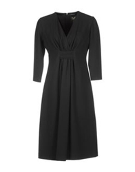 Antonio Croce 3 4 Length Dresses Black
