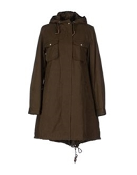 Cycle Mid Length Jackets Military Green