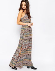 Only Tapestry Print Maxi Dress Tapestry