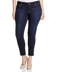 Lucky Brand Plus Ginger Cropped Skinny Jeans In El Monte