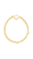 Ariel Gordon Jewelry Diamond Chain Ring Clear Gold