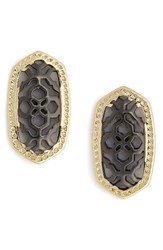 Kendra Scott Women's 'Bryant' Drop Earrings Iridescent Drusy Gold