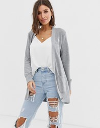 Abercrombie And Fitch Boyfriend Cardigan Grey