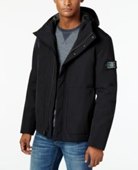 G.H. Bass And Co. Men's Hooded Storm Jacket Black