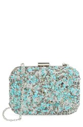 Natasha Couture Stone And Crystal Clutch