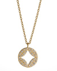 Pave Diamond Aladdin Pendant Necklace Jamie Wolf Pink