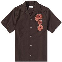 Saturdays Surf Nyc Short Sleeve Canty Opium Shirt Brown