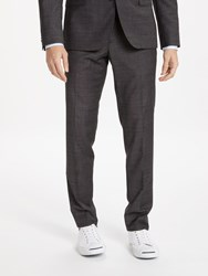 J. Lindeberg J.Lindeberg Super 140S Wool Slim Fit Suit Trousers Charcoal