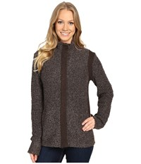 Royal Robbins Bella Boucl Zip Cardigan Java Women's Sweater Brown