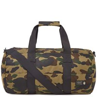 A Bathing Ape X Porter 1St Camo Boston Bag Green