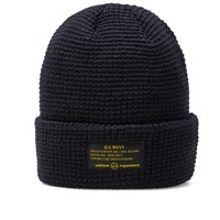 Uniform Experiment Uen Knit Beanie Blue