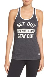 The North Face Women's 'Play Hard' Graphic Tank Tnf Black Tnf Black