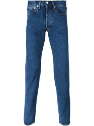 Our Legacy 'First Cut' Stonewashed Jeans Blue