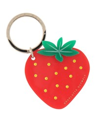 Charlotte Olympia Key Rings Red