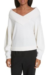 Ji Oh Crop Wool And Cashmere Sweater