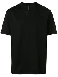 Attachment Classic Plain T Shirt Black