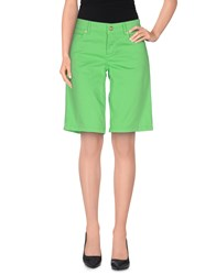 Galliano Bermudas Acid Green