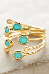 Anthropologie Lilou Ring Turquoise