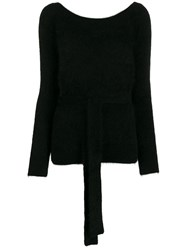 Semicouture Waist Tied Jumper 60